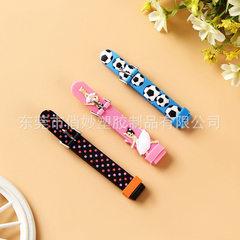 Manufacturer supplies watch accessories PVC strap  blue