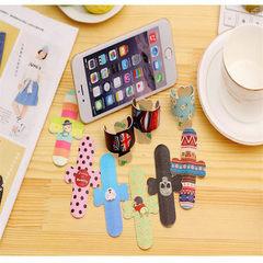 厂家懒人硅胶手机定制支架批发橡胶手機支架定制抖音直播神器 白色(OPP袋子装),黑色(OPP袋子装),蓝色(OPP袋子装