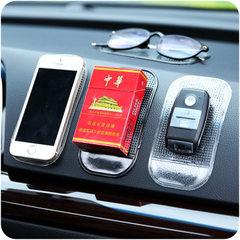 阿凡大叔车载手机支架 手机架车内摆件贴车载支架硅胶手机座批发 黑色