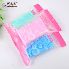 Manufacturer direct sale hot style children sponge Powder blue, green, yellow