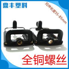出售 塑料制品手折叠机夹 新款自拍杆塑料手机夹 塑料拍照手机夹 全铜螺丝