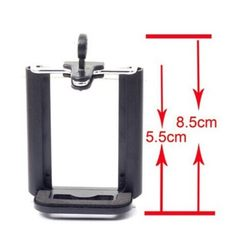 Self - timer clamp - type U mobile phone clamping  black