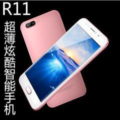 国产低价手机R11智能手机 超薄5.5双卡手机 厂家直销大屏手机oem 黑色