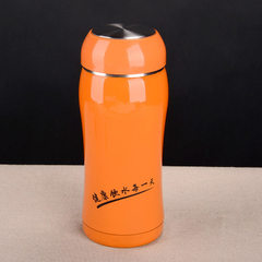 Wholesale 304 stainless steel thermos cup outdoor  orange 360 ml