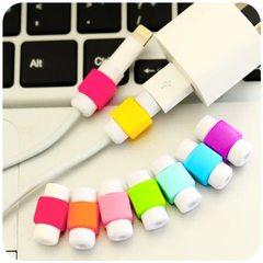 台湾i线套 苹果充电数据线保护套  蝴蝶结保护器充电线防护器 方型数据线