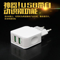 2.5a dual USB charger multi-port USB charger mobil white