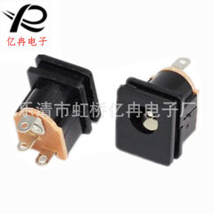 Round super thin champagne wall switch socket powe The type 86
