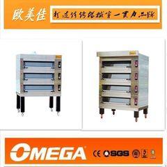 欧美佳 美式上掀门分层电烤炉 烤箱 面包房设备 工厂特价直销