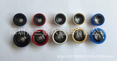 Mobile phone lens three in one universal wide Angl black