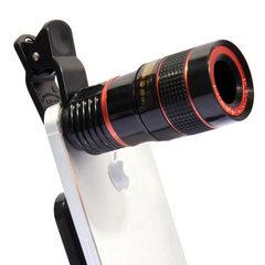 8X长焦手机镜头 通用8倍手机变焦镜头 8x高清调焦特效摄影镜头厂 8X/黑色