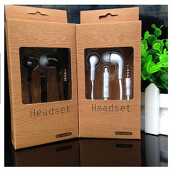 It is compatible with earphone wired control earph J5 white PVC without LOGO