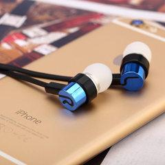 入耳式耳机面条线重低音MP4/MP3礼品耳塞录音笔标配电商工厂热销 红色