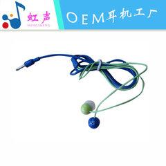 耳机工厂定制环保线可印刷logo斯诺克桌球台球3D造型耳机 白色
