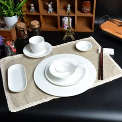 Factory direct sale of bone China hotel ceramic ta Table top set