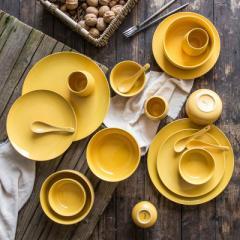 Creative gifts customized LOGO Nordic porcelain ta Green jobs