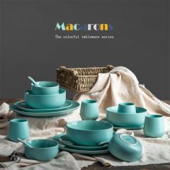 Nordic western-style ceramic tableware set western Shallow bowl