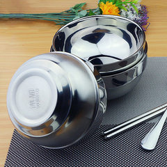 Non-magnetic stainless steel tableware bowl for ch 11.8 cm