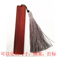 Black sandalwood bookmark red wood bookmark custom African red sandalwood 15 * 2.5 * 0.2 cm