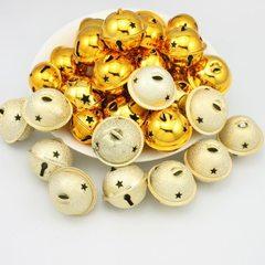 东莞厂家供应各种金属宠物铃铛环保圣诞铃铛金色系列常年现货供应 28MM