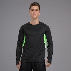 Marathon suit for men and women running fitness cl P20-1 black coat s