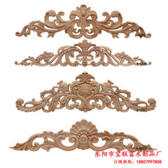 Baolian fudongyang wood carving european-style sol Contact customer service to modify the delivery fee A008 100 * 24 cm