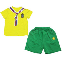 Kindergarten wear summer wear new type 2018 cotton The boy 820 The height of 100 yards is recommended to be 90cm