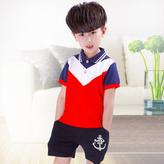Kindergarten wear summer wear boys and girls cotto 805 (boy) The height of 100 yards is recommended to be 90cm