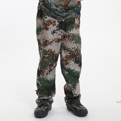 Manufacturer`s military training camouflage unifor The trousers 100