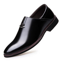 Spring 2018 new classic commercial shoes for men i black 38