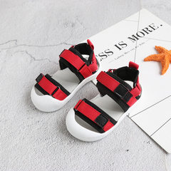 2018 new baby sandal magic tape male baby balata s red 16