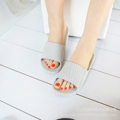2018 new style summer cool slippers soft bottom an Grey (men`s) 36/37