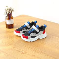 Summer 2018 girls` sneakers dad shoes new Korean b red In the 21 14.5 cm long