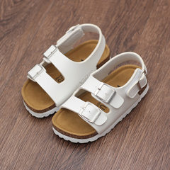 Children`s shoes sandal sandal sandal baby cork sh white 24