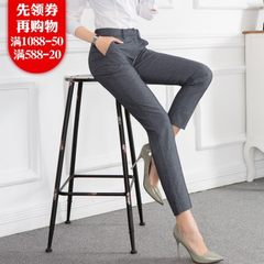 2018 summer new fashion professional casual trouse Black pants 2 xl