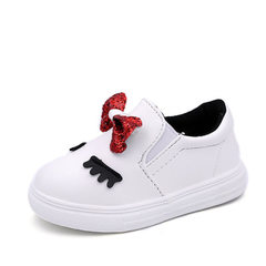 2018 autumn new fashion children`s shoes children` A61 white The length is 13cm within 21 yards
