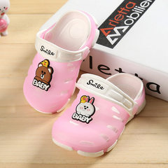 Jelly children`s shoes wholesale summer baotou chi pink 20