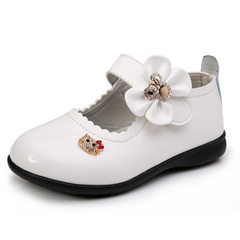 2018 spring and autumn new style children`s shoes, white 21