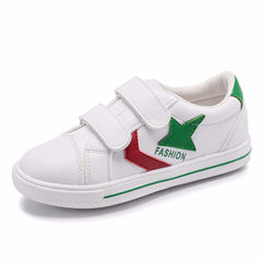 Spring 2018 new children`s small white shoes fashi green 26