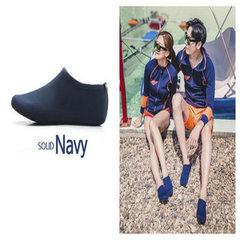 沙滩鞋潜水鞋户外鞋潜水鞋袜溯溪浮潜鞋游泳漂流鞋瑜伽健身鞋子 黑色 XXS码(33)