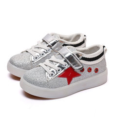 Children`s shoes new children`s sneakers boys` cas B - 3 red 21