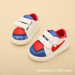 Spring and autumn children sports shoes soft-sole  white 15-19 yards (5 pairs for each hand)