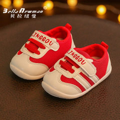Spring 2018 new style children`s shoes monogram co 106 red 15