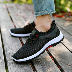 2018 new style lovers old Beijing cloth shoes men  D - 1 male black 35