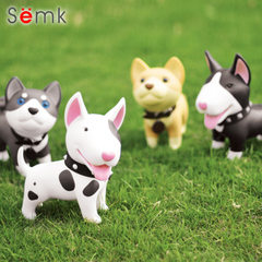 Semk cartoon creative piggy bank cute little dog p Grey mouse sat upright /12.5cm