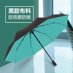 跨境热卖自动伞黑胶全自动雨伞防晒防紫外线晴雨伞23寸加大男士伞 可爱粉
