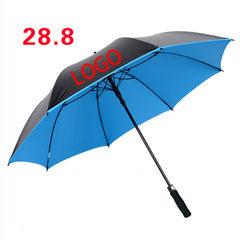 晋江便宜定做遮阳伞防晒雨伞 可定制促销广告伞印制logo印字 直杆伞22寸*8骨