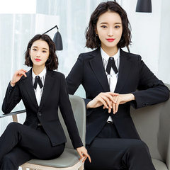 Suit suit female new style Korean version of fashi Black suit jacket s