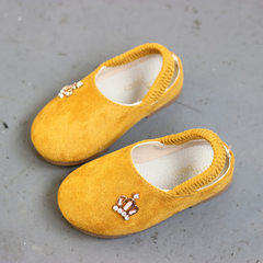 2018 new style dance shoes spring children doudou  yellow Size 21 -25-5 pairs for each hand