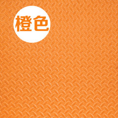 Factory customized foaming anti - skid floor foam  orange 60 * 60 * 2.5