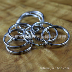 Manufacturer direct selling circle 12mm-35mm metal Nickel color (other colors can be plated) 1.0 line thickness x12mm external diameter